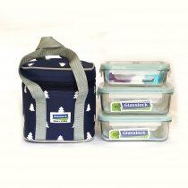 Bộ túi đựng cơm trưa LUNCH 40-71×2