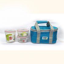 Bộ túi đựng cơm trưa LUNCH OVAL 45×2-72