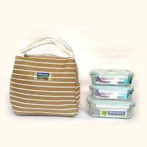 Bộ túi đựng cơm trưa LUNCH 40×2-71K